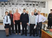 Ветераны в музее УВД
