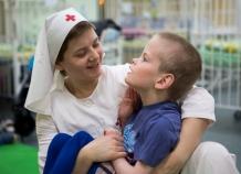 Фото Е.Степановой, ноябрь 2013 года. ДДИ №15 В основном дети, имеющие диагноз ДЦП, синдром Дауна, врожденная гидроцефалия, порок сердца. Около 450 детей в возрасте от 4 до 18 лет.