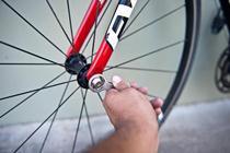 кража колес от велосипеда