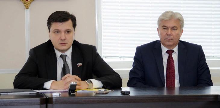 Денис Москвин: «Повышается требовательность к депутатской работе на местах»