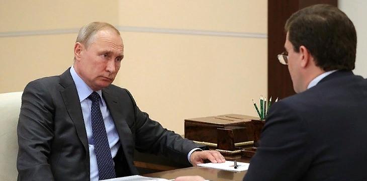 Прошла встреча Владимира Путина и Глеба Никитина