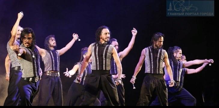 Аргентинское танцевальное шоу прошло в драмтеатре (фото)