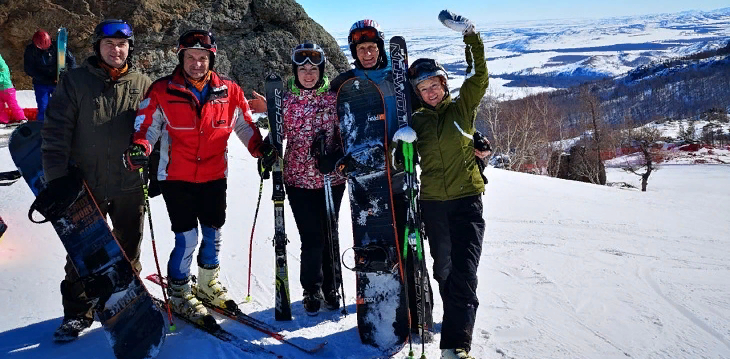 Саровские горнолыжники снова впереди