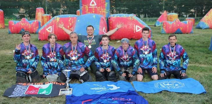 Пейнтболисты из «Реактора» заняли первое место на втором этапе кубка Москвы