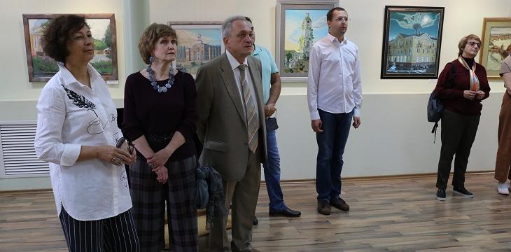 """Выставка """"Художники Сарова-2020"""" открылась в Городской художественной галерее"""
