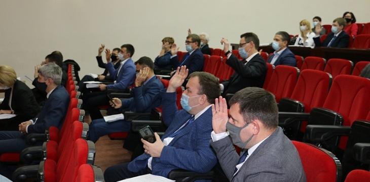 Депутаты избрали заместителей председателя гордумы
